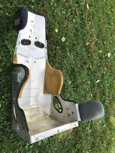 Vtg Small Racing Car Bucket Seat Retro Performance Custom Metal Child Derby