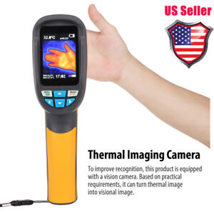 Ht 02d Handheld Ir Thermal Imaging Camera Color Display 1024p Thermal Imager