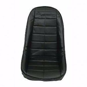 Dune Buggy Low Back Seat Cover Black Vinyl Each