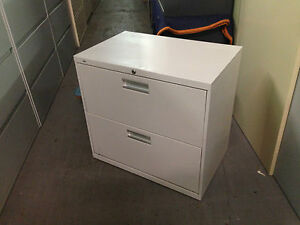 2 Drawer Lateral Size File Cabinets By Hon Office Furniture Model 672l