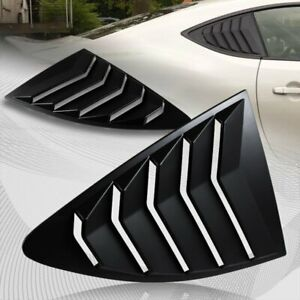 For 2013 2020 Scion Fr S Subaru Brz Abs Side Window Louvers Scoop Cover Vent