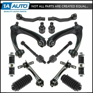 Control Arm Ball Joint Tie Rod Sway Bar Link Steering Suspension Kit Set 14pc
