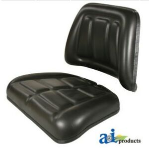 Tractor Seat Cushion Kit Backrest And Bottom Fits John Deere Ford And More