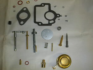Farmall Ihc H Major Carburetor Repair Kit With Float New Free Shipping