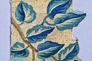 Wonderful 17th 18th Century Antique French Tapestry Verdure Fragment