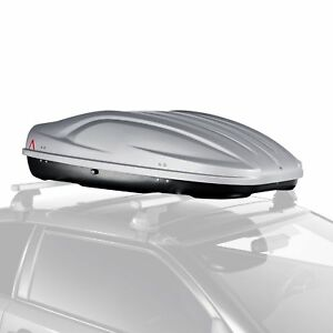 G3 22 314 Absolute 400 Shiny Gray Roof Cargo Box