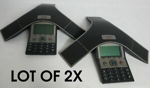Lot 2x Cisco Cp 7937g Poe Conference Phone