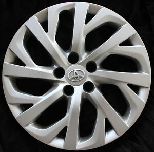 Genuine Made By Toyota Corolla Hubcap Oem Cover 2017 2018 16 Wheel Only