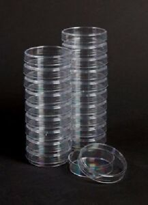 Plastic Petri Dishes 60 X 15 Case 500 Non vented