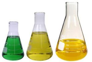 3 Erlenmeyer Glass Flask Set 3 Sizes 250 1000ml