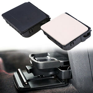 1x Car Auto Truck Black Cup Drink Water Holder Cover For Vw Golf Jetta Mk5 04 14