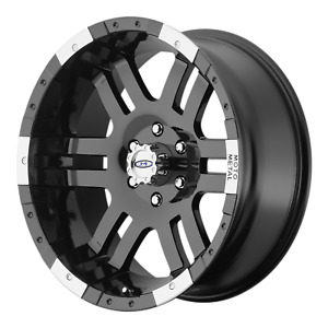 1 18x9 8x165 10 12 Mm Moto Metal Mo951 Black Wheel Rim 18inchmo9518980312