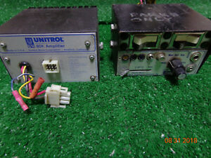 Federal Signal Unitrol 80k Amplifier With Controller And Switches