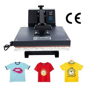 15 x15 Digital T shirt Heat Press Machine Transfer Sublimation Print 1400w 110v