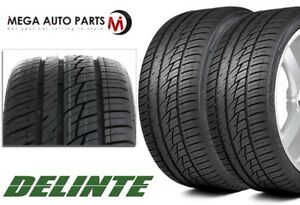 2 New Delinte Ds8 275 40zr20 108w Xl All Season High Performance Tires