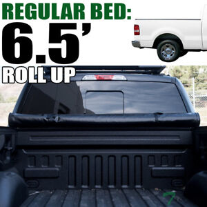 Topline For 2004 2014 Ford F150 6 5 Ft Bed Lock Roll Up Vinyl Tonneau Cover