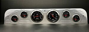 1967 1968 1969 1970 1971 1972 Ford Truck 6 Gauges Dash Set White