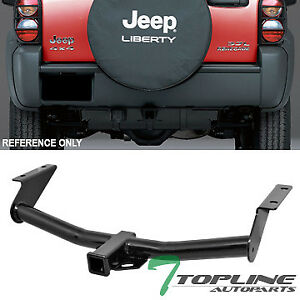 Topline For 2002 2007 Jeep Liberty Class 3 Trailer Hitch Tow Receiver 2 Black