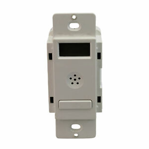 Hubbell Dt1277w Digital Timer Wall Switch 120 277v 50 60 Hz White