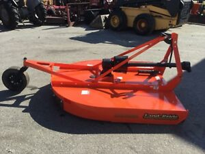 Very Nice Land Pride Rcr 1260 5 Foot 3 Point Hitch Bushhog