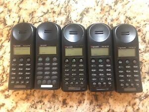 Lot Of 5 Spectralink Polycom Ptb410 Refurbished Wireless Handset W 10 Batterie