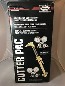 Harris By Lincoln Welding Cutter Pac Gx25 Oxygen Acetylene Cuttong Torch Kit