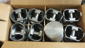 440 Chrysler Forged Pistons L2388f 030 Over Set Of 8