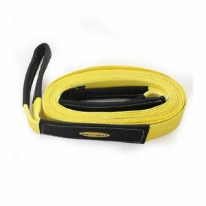 Smittybilt Tow Strap 2 x30 20 000 Lb Rating yellow Cc230