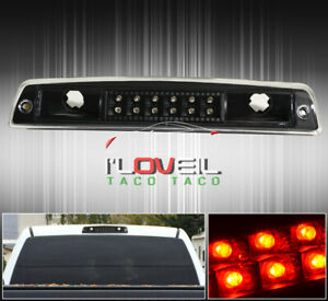 Black Led Third 3rd Brake Light Cargo Stop Lamp For 94 01 Dodge Ram 1500 Pickup