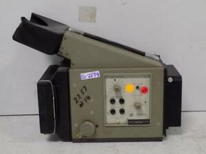 Hp Oscilliscope 4x5 Camera 197b