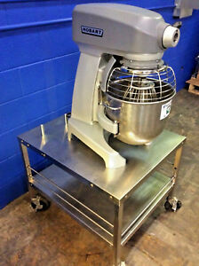 Hobart 20 Qt Mixer Legacy Hl200 Bakery Dough Planetary W Stand And Whip