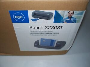 Swingline Electric Paper Punch Stapler 2 Or 3 Hole 24 Sheet 3230st New