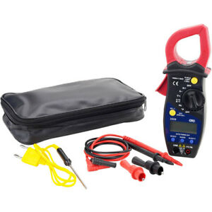 Otc Tools 3908 Amp Clamp Multimeter Kit Designed To Allow Accurate Current Measu