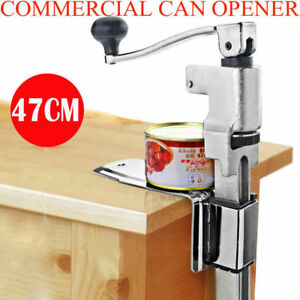 11in Heavy Duty Table Bench Clamp Can Opener Commercial Kitchen Restaurant Chef
