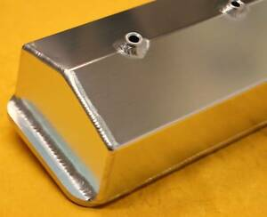 Sbc Small Block Chevy Tall Fabricated Valve Covers Center Bolt Sheet Metal
