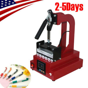 Digital Ballpoint Pen Heat Transfer Machine Pen Heat Press Machine Printing 2018