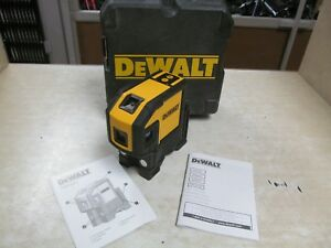 Dewalt Dw0851 Self Leveling Red 5 Spot Line Laser Kit
