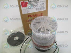 Federal Signal Fb2pst 120c Clear Strobe Beacon New In Box