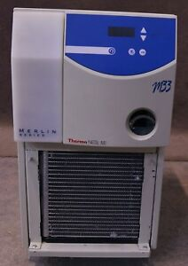 Thermo Neslab Merlin Series M33 Recirculating Chiller Laboratory 15 35 c