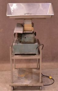 Hollymatic Model 54 Automatic Hamburger Patty Maker Machine W Cart
