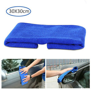 1pc Microfiber Cleaning Cloth Towel Car Auto Polishing Detailing Rag 30 30cm