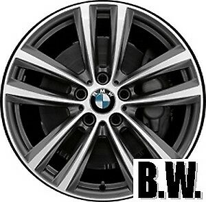 19 Inch Oe Wheel fits 2014 2016 Bmw 328i 086019