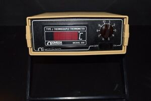 Omega Engineering Type J Thermocouple Thermometer Model 650