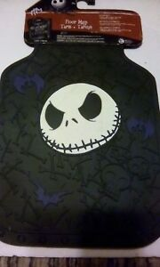 New 2pc Nightmare Before Christmas Front Car Truck All Weather Rubber Floor Mats