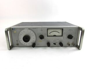 Hewlett Packard 652a Test Oscillator