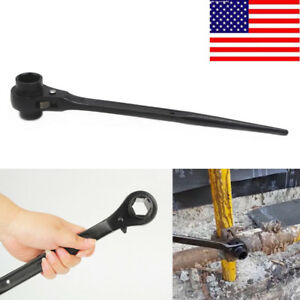 3 4 X 7 8 Dr Dual Socket Spud Ratchet Wrench Handle For Aligning Bolts Us