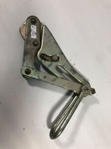 Klein Tools 1656 60 86 96 8000 Lbs Cable Wire Grip Puller Used