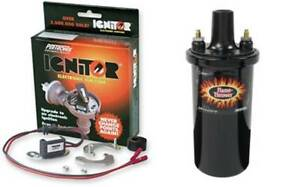 Pertronix Ignitor Points Conversion Kit Delco V8 Amc Chevy Pontiac With Hp Coil