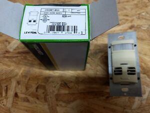 Leviton Ossmt mdi Ivory Wall Switch Occupancy Sensor 120 277 Volt