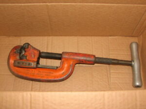 Ridgid No 2a Heavy Duty Pipe Cutter 1 8 to 2